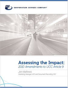 Assessing the Impact UCC Article 9 Guide