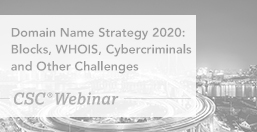 CDomain Name Strategy 2020: Blocks, WHOIS, Cybercriminals and Other Challenges