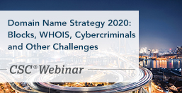 Domain Name Strategy 2020: Blocks, WHOIS, Cybercriminals and Other Challenges