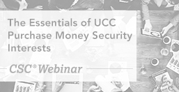 UCC Purchase Money Security Interests Essentials