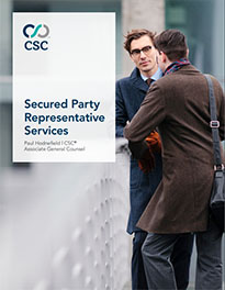 Secured Party Representative Services (SPRS)