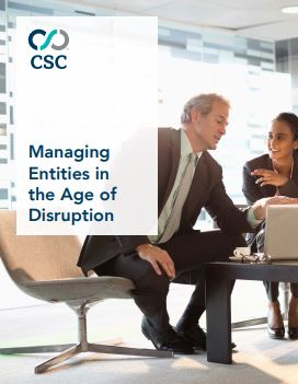 Managing Entities in the Age of Disruption