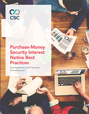 Purchase-money security interest white paper