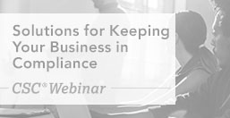 Keeping Your Business in Compliance