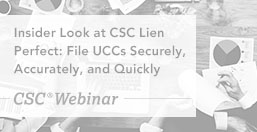 CSC Lien Perfect Insider Look