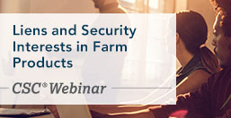 Farm Liens and Security Interests