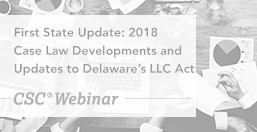 Case Law Developments and Updates to LLC Act