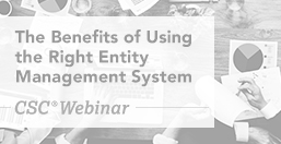 Entity Management System Benefits