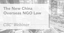 New China Overseas NGO Law