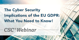 Implications of the EU GDPR