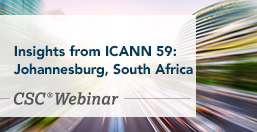 Insights from ICANN 59