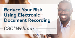 Electronic Document Recording Benefits