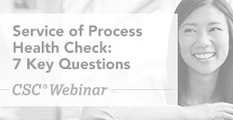 Service of Process Health Check