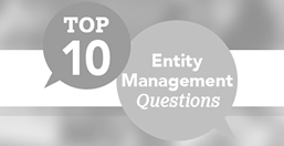 Entity Management Questions