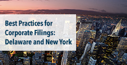 Corporate Filings Best Practices