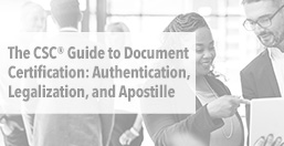CSC Guide to Document Certification