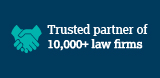 Trusted partner of 10,000+ law firms
