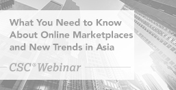 Online Marketplaces and New Trends in Asia