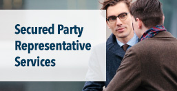 Secured Party Representative Services